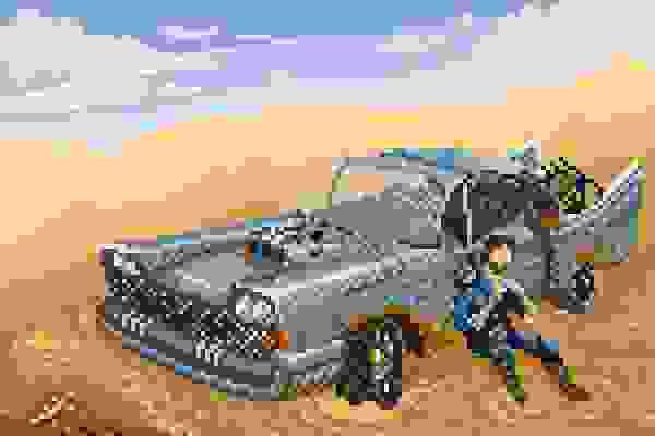 Pixels du desert
