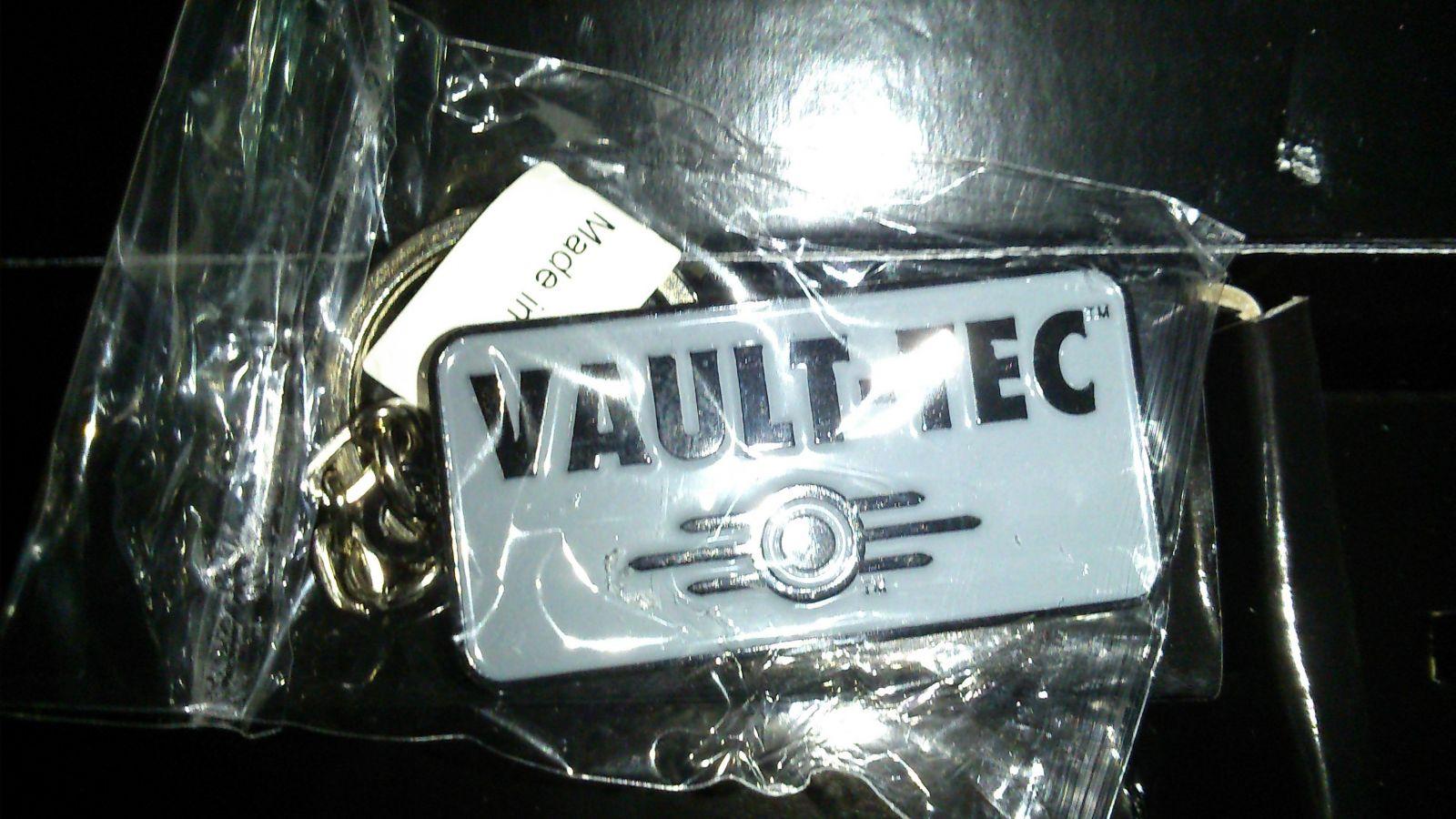 Porte clef Vault-Tec -Box Fallout 4