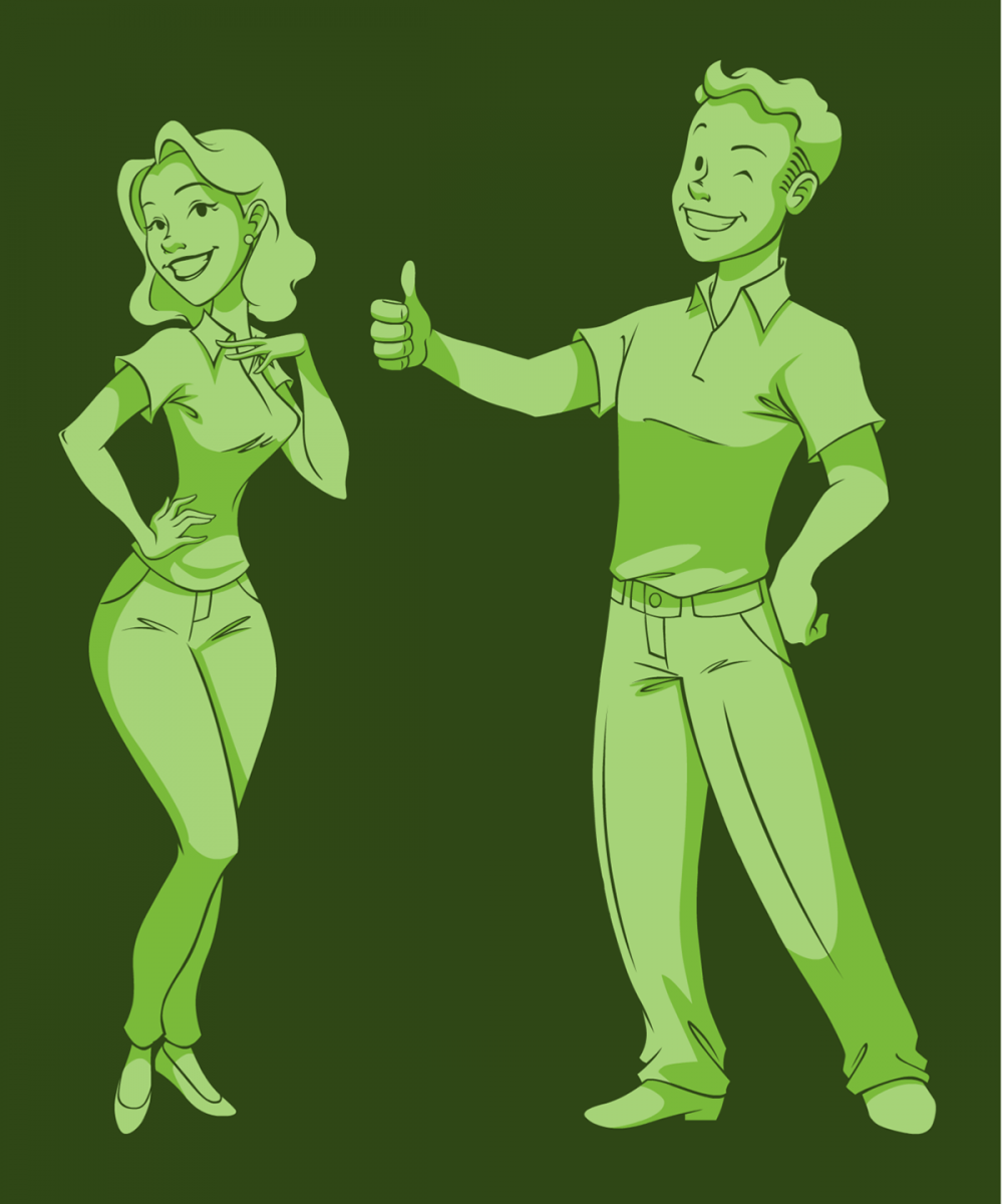 Vault Boy and Girl