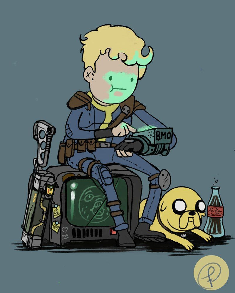 Adventure time Fallout